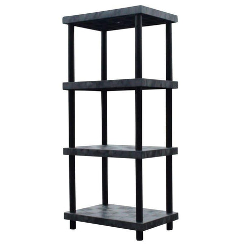 Heavy-Duty Shelving: 4-Shelf Storage Units