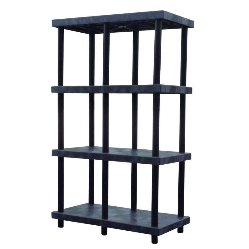 Heavy-Duty 4-Shelf Shelving System