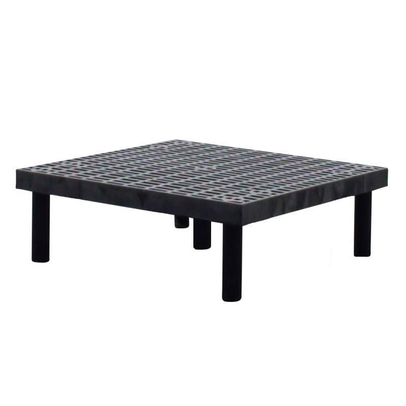 Ventilated Plastic Storage Bench