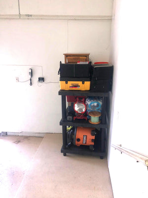 "Ventilated Shelves  | 3 Shelf Unit  | 36""L x 36""W x 54""H 