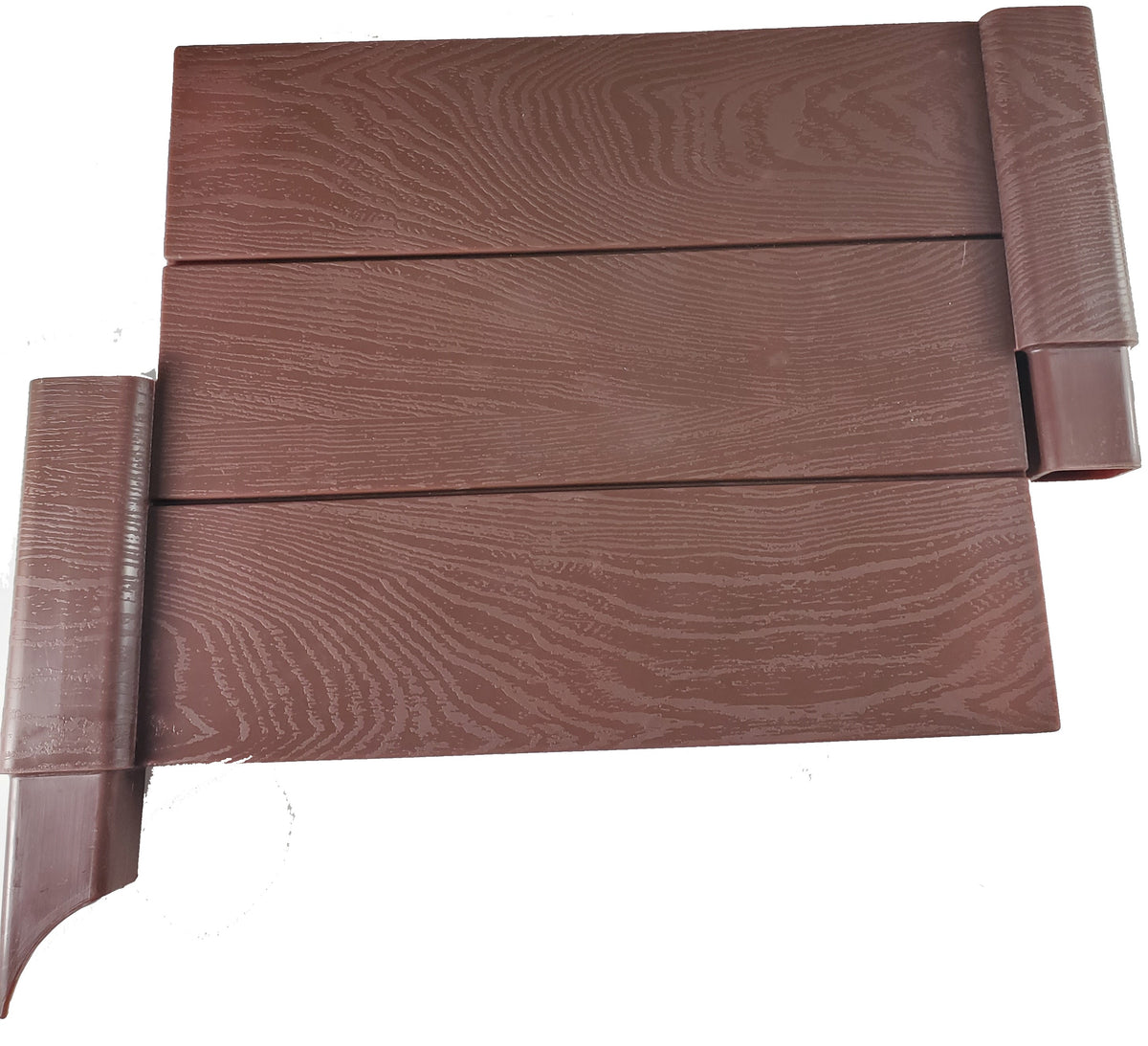 Modular Raised Bed Garden - Single Add-on - Faux Wood - 1 Panel