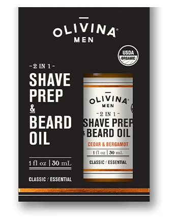 Olivina Men Shave Prep Beard Oil