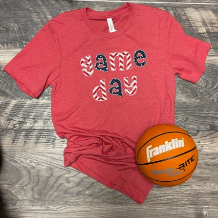 Red Game Day Tee