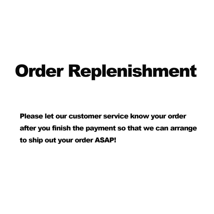 Order Replenishment