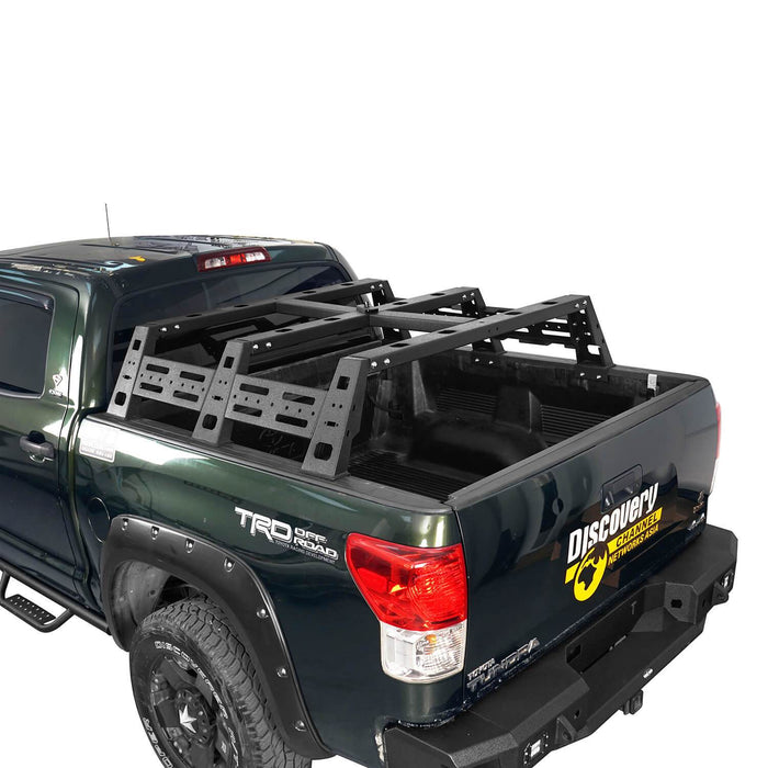 Hooke Road Front Bumper / Rear Bumper / Bed Rack Cargo Carrier(07-13 Toyota Tundra)