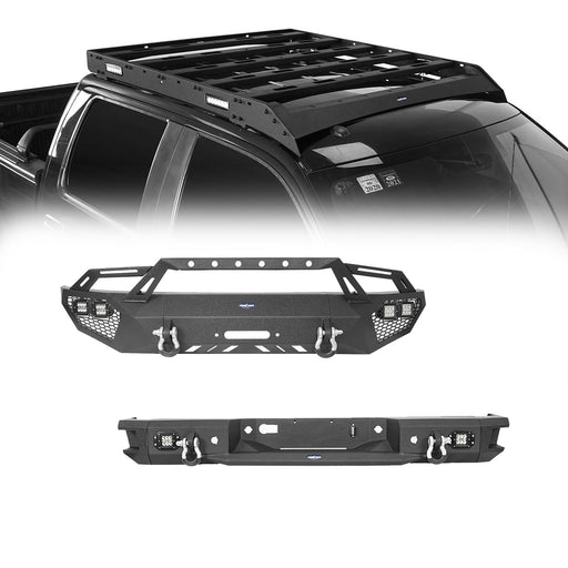 Hooke Road Front Bumper / Rear Bumper / Roof Rack(06-14 Ford F-150)