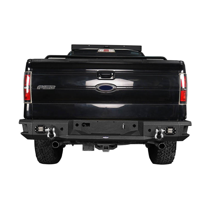 Hooke Road Front Bumper / Rear Bumper / Roof Rack Luggage Carrier(06-14 Ford F-150)