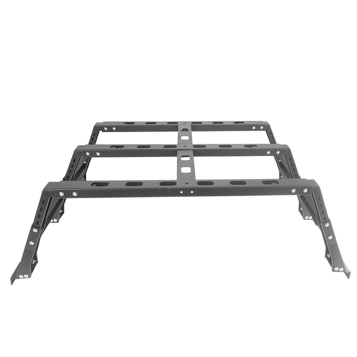 Hooke Road Full Width Front Bumper / Rear Bumper / Bed Rack(13-18 Dodge Ram 1500,Excluding Rebel)