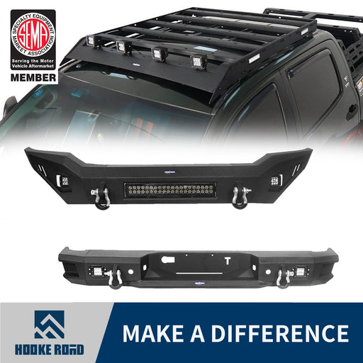 Hooke Road Full Width Front Bumper / Rear Bumper / Roof Rack(07-13 Toyota Tundra Crewmax)