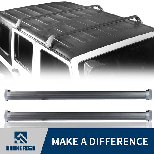 Hooke Road Jeep JK Roof Rack Cross Bars Side Rail Roof Rack for Jeep Wrangler JK 2007-2018 MMR1792 Jeep JK Accessories Jeep Wrangler Parts u-Box Offroad 1