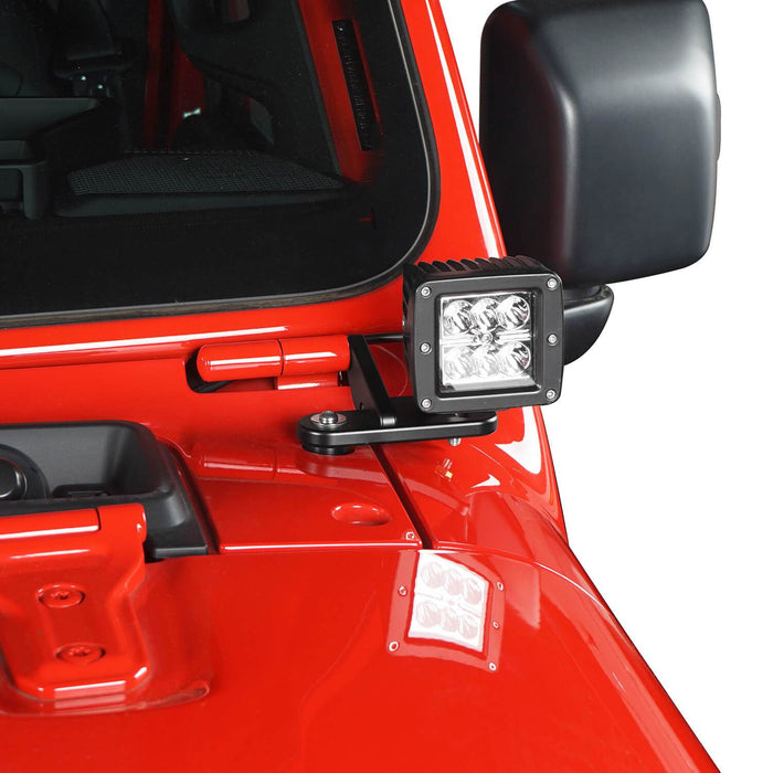 Hooke Road? A-Pillar Light Mounting for Jeep Wrangler JL 2018-2019 Jeep JL Parts MMR1815 u-Box offroad 5