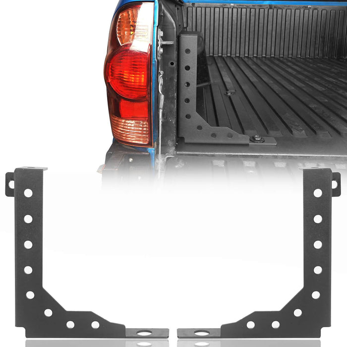 Hooke Road Rear Bed Stiffener Brackets(05-21 Toyota Tacoma 2nd & 3rd Gen)