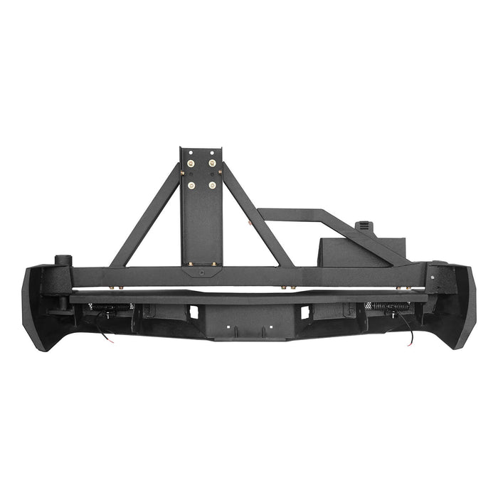 Hooke Road Rear Bumper w/Swing Out Tire Carrier(05-15 Toyota Tacoma)