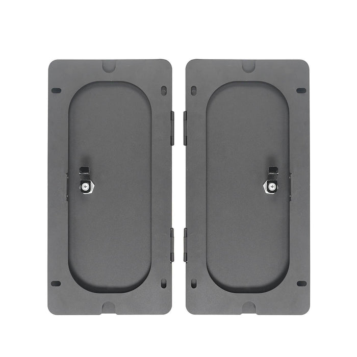 Hooke RoadRear In-Floor Storage Security Lid for 2009-2018 Dodge Ram 1500 2500 3500 Ram Accessories Ram Parts GY10003 5