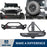 Hooke Road Rock Crawler Stubby Front Bumper & Different Trail Rear Bumper w/Tire Carrier Combo(07-18 Jeep Wrangler JK JKU)