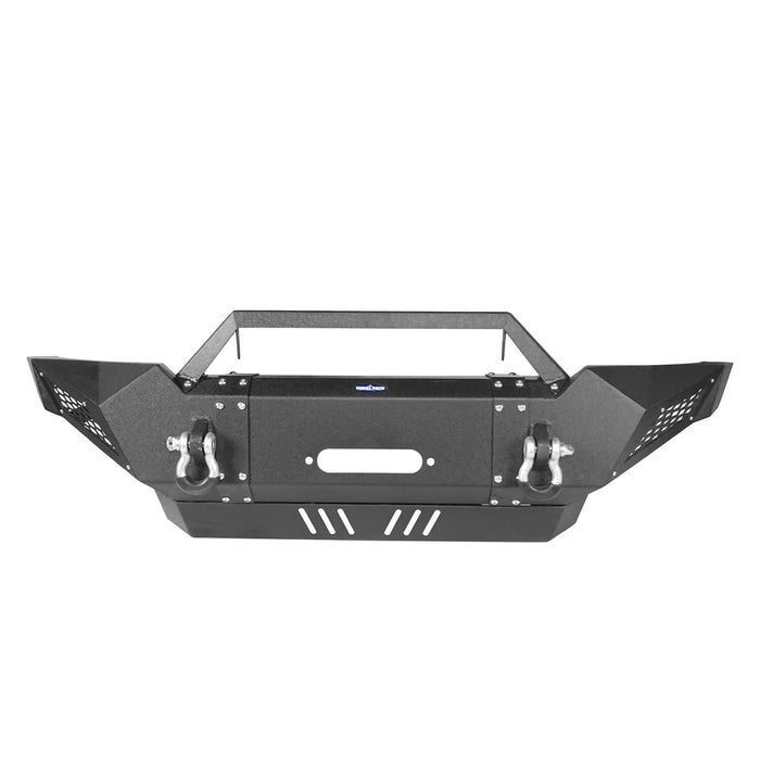 Hooke Road Toyota Tacoma Front Bumper with Winch Plate Toyota Tacoma Parts for Toyota Tacoma 2005-2015 BXG402 u-Box offroad 7