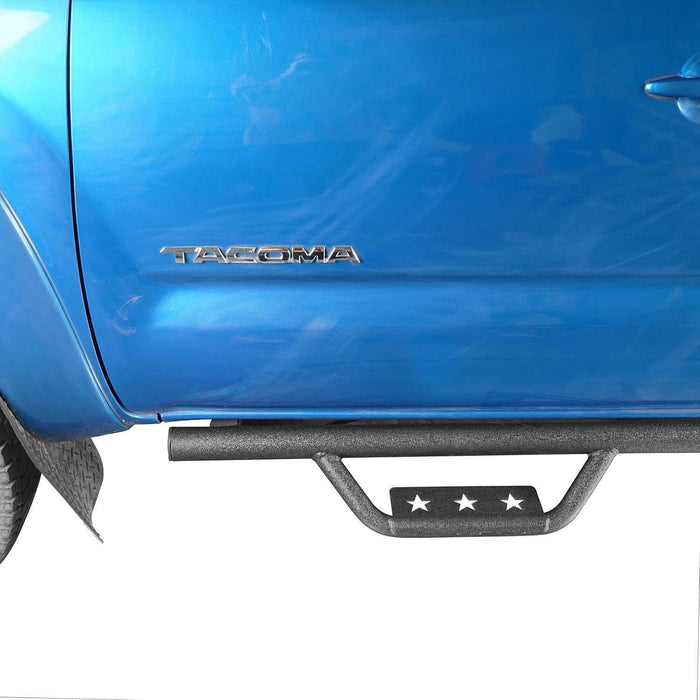Hooke Road Toyota Tacoma Side Steps 4 Door for Toyota Tacoma 2005-2019 BXG403 u-Box offroad 4