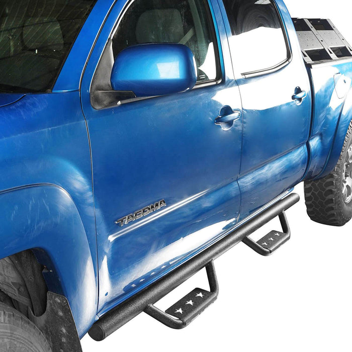 Hooke Road Toyota Tacoma Side Steps 4 Door for Toyota Tacoma 2005-2019 BXG403 u-Box offroad 5
