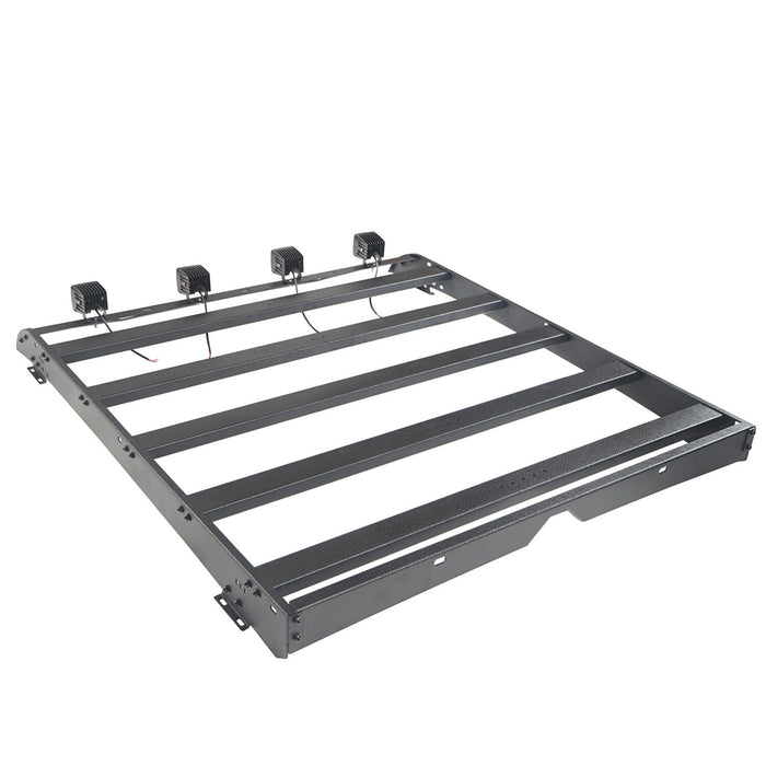 Hooke Road Toyota Tundra Crewmax Roof Rack Cargo Carrier for Toyota Tundra 2014-2019 bxg605 u-Box Offroad 6