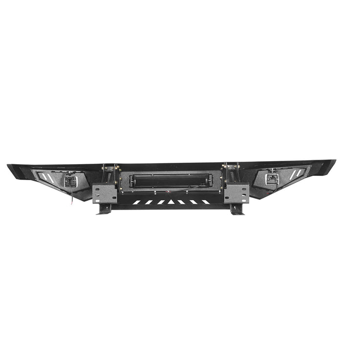 ooke Road Opar Full Width Textured Black Front Bumper for 2014-2019 Toyota Tundra Pickup BXG601 u-Box offroad 10