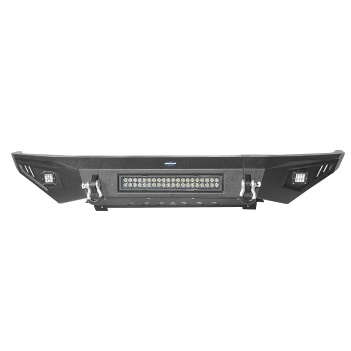 ooke Road Opar Full Width Textured Black Front Bumper for 2014-2019 Toyota Tundra Pickup BXG601 u-Box offroad 7
