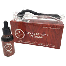 Load image into Gallery viewer, Beard Growth Kit for Hair Growth