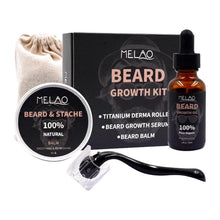 Load image into Gallery viewer, Beard Nourishing Growth Essential Kit