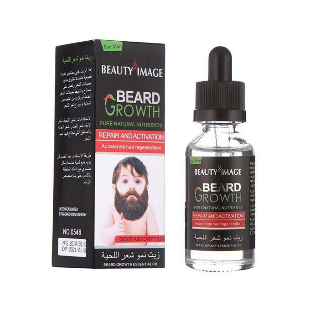40ML Men's Beard Growth Oil
