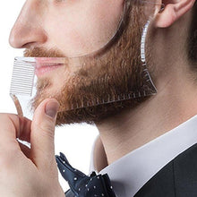 Load image into Gallery viewer, New Fashion Men Beard Shaping Styling Template Comb Men's Beards Combs Beauty Tool for Hair Beard Trim Templatesival