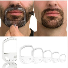Load image into Gallery viewer, 5Pcs/lot Beard Comb Hairbrush Symmetric Cut Salon Mustache Beard Styling Template for Beard Shaping Trimming Tool
