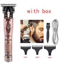 Load image into Gallery viewer, Electric Hair Clipper Rechargeable Shaver Beard trimmer Professional Hair Trimmer Cordless Men Hair Cutting Machine Beard razo