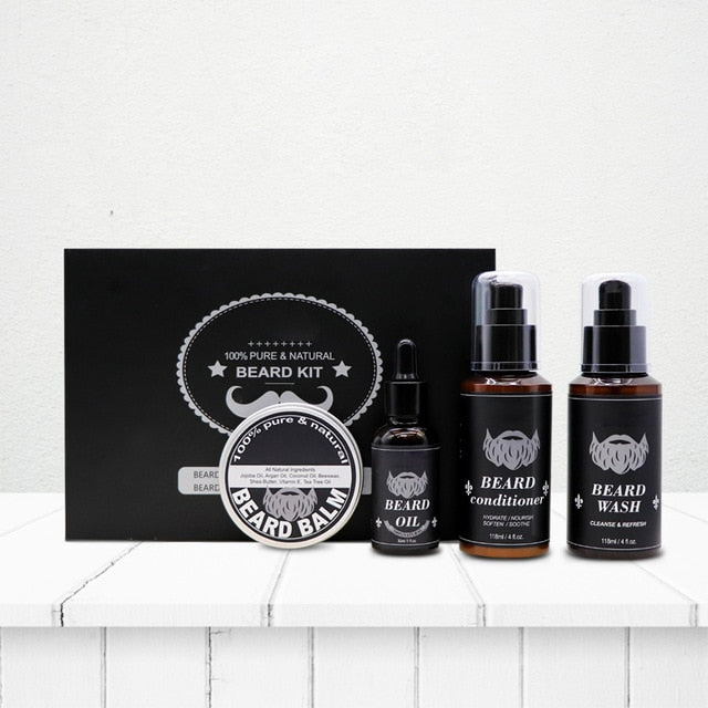 Natural Profession Men Beard Care Kit