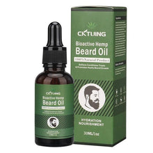 Load image into Gallery viewer, Natural Hemp Men Beard Oil