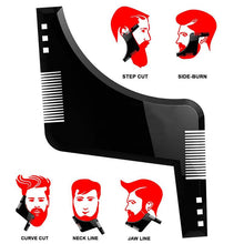 Load image into Gallery viewer, Beard Shaping and Styling Template