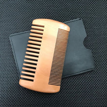 Load image into Gallery viewer, Wood Hair Brush Comb For Men