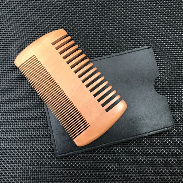 Wood Hair Brush Comb For Men