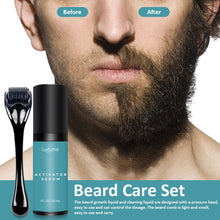 Load image into Gallery viewer, Oil Nourishing Serum Beard Grow Set