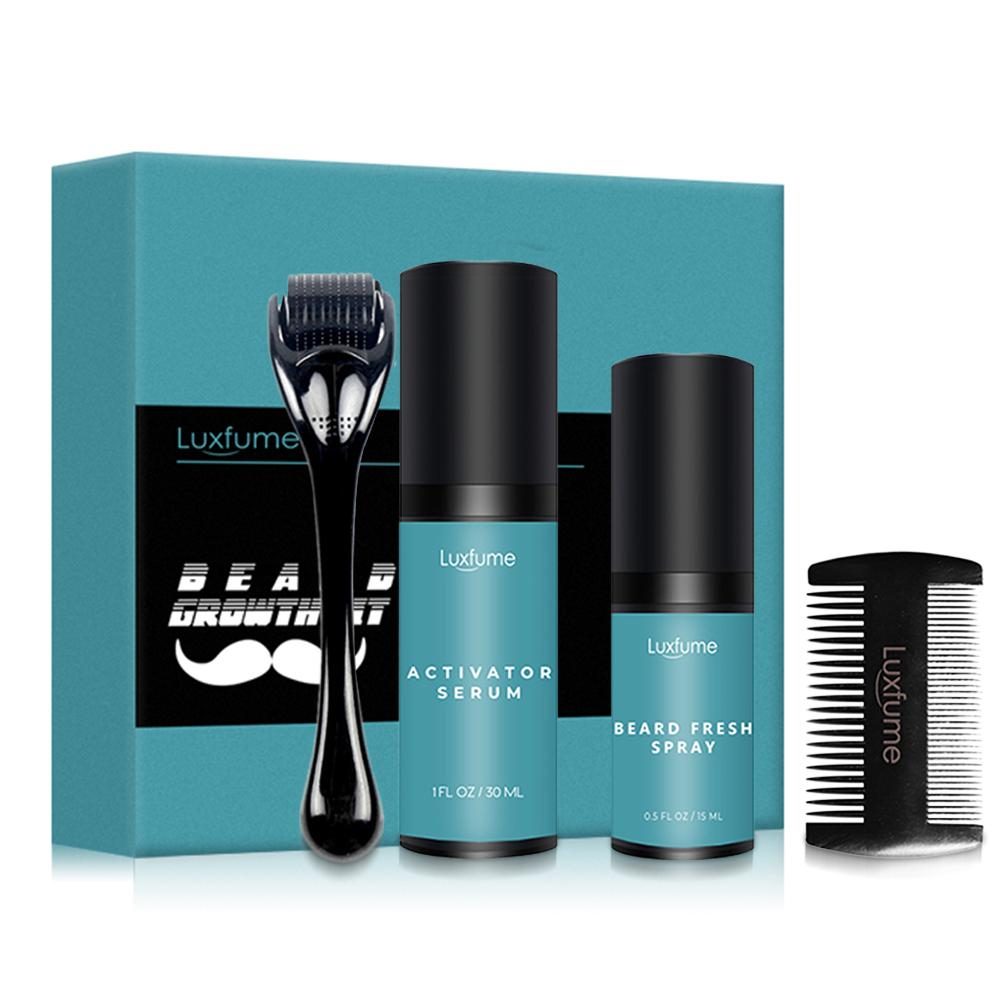 Oil Nourishing Serum Beard Grow Set