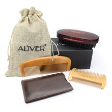 Load image into Gallery viewer, Beard Kit With Scissor Comb Brush