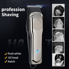 Load image into Gallery viewer, Rechargeable Hair Clipper Electric Trimmer