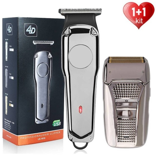 Rechargeable Hair Clipper Electric Trimmer