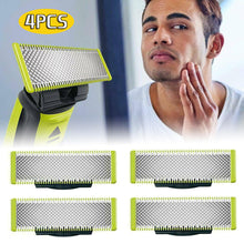 Load image into Gallery viewer, 1pc 2pcs 4 pcs For Philips OneBlade Shavers Replacement Blades Heads Shaving Head Beard Shaver Rack Support QP2520 QP2523 QP2530