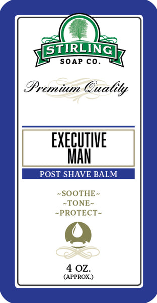 Stirling Executive Man Aftershave Balm