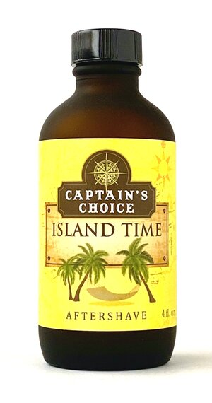 Captain's Choice - Island Time Aftershave
