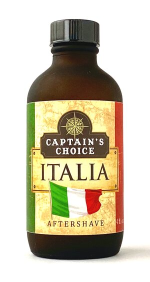 Captain's Choice - Italia Aftershave