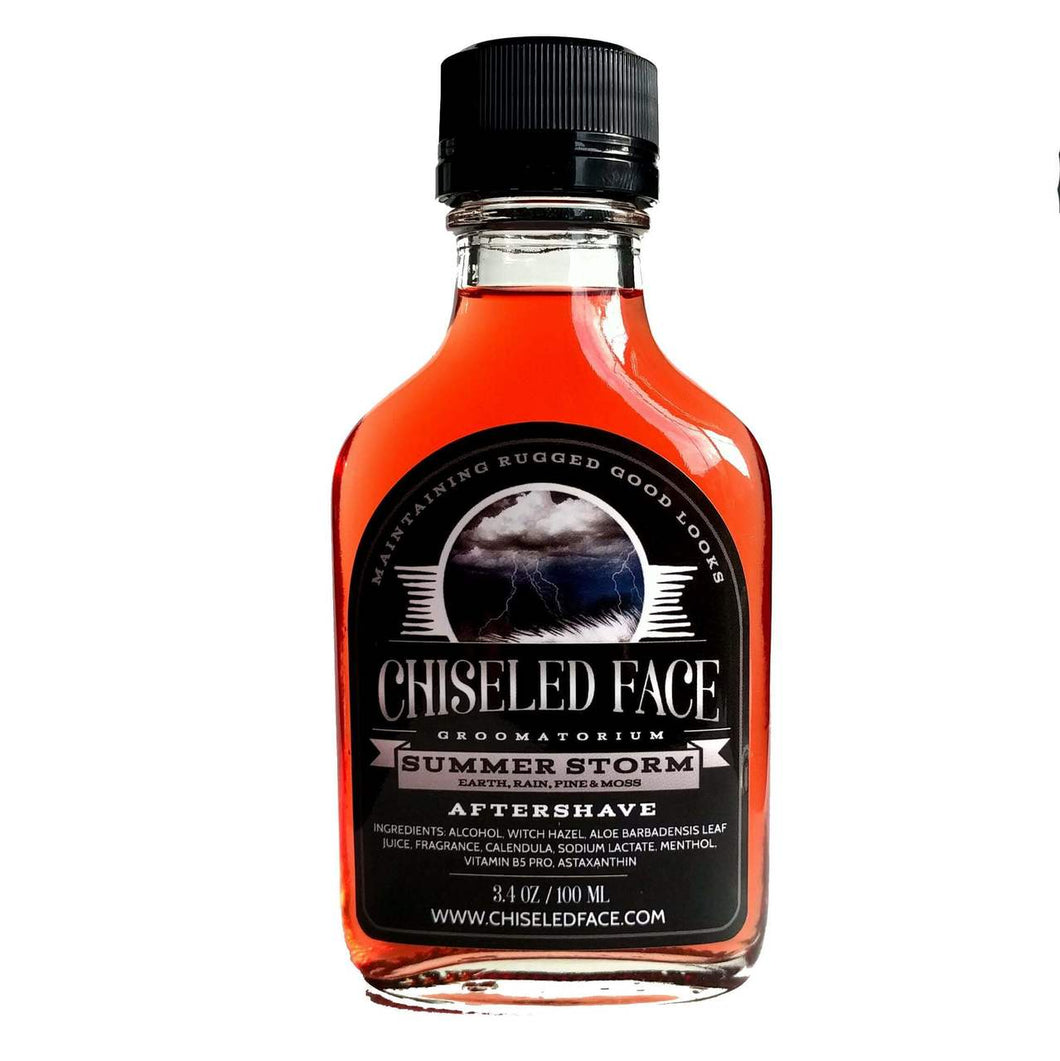 Chiseled Face Groomatorium- Summer Storm Aftershave