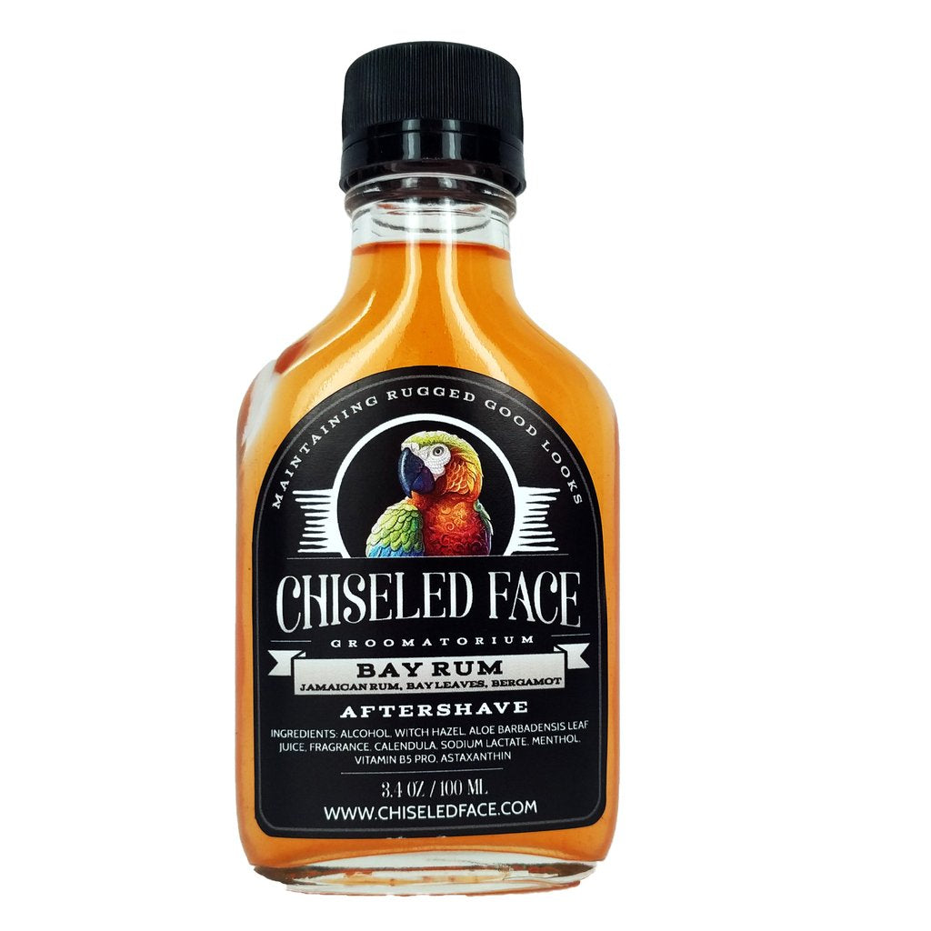 Chiseled Face Groomatorium- Bay Rum Aftershave