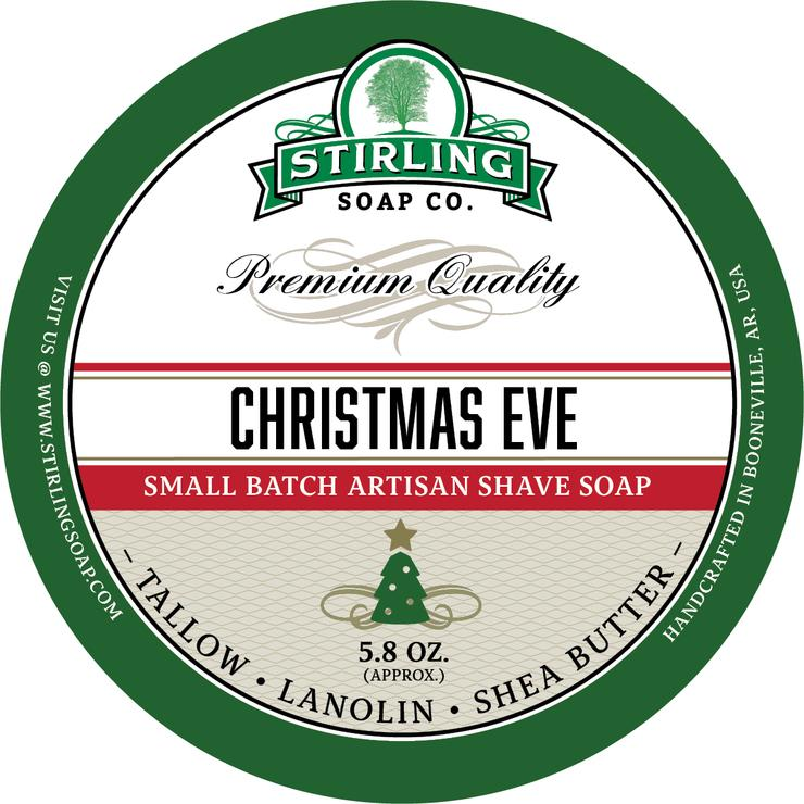 Stirling Soaps- Christmas Eve Shave Soap
