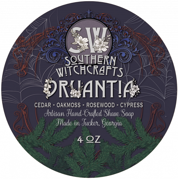 Southern Witchcrafts- Druantia Vegan Shave Soap