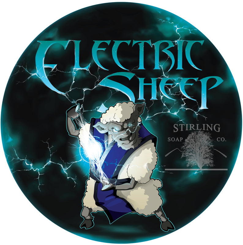 Stirling Soaps- Electric Sheep Shave Soap